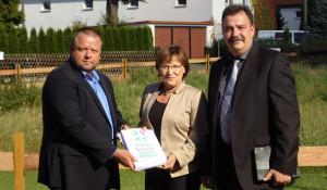 Übergabe der Petition an Frau Staatsministerin für Kultus Brunhild Kurth